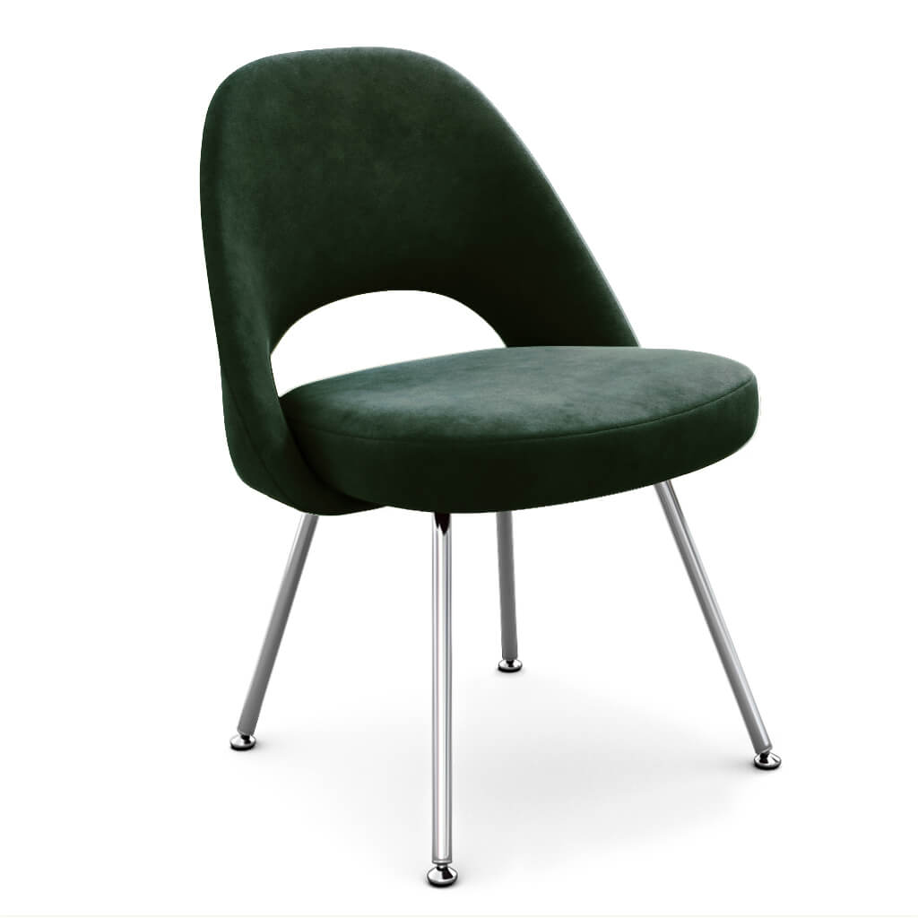 Side Chair Steel Evergreen photo