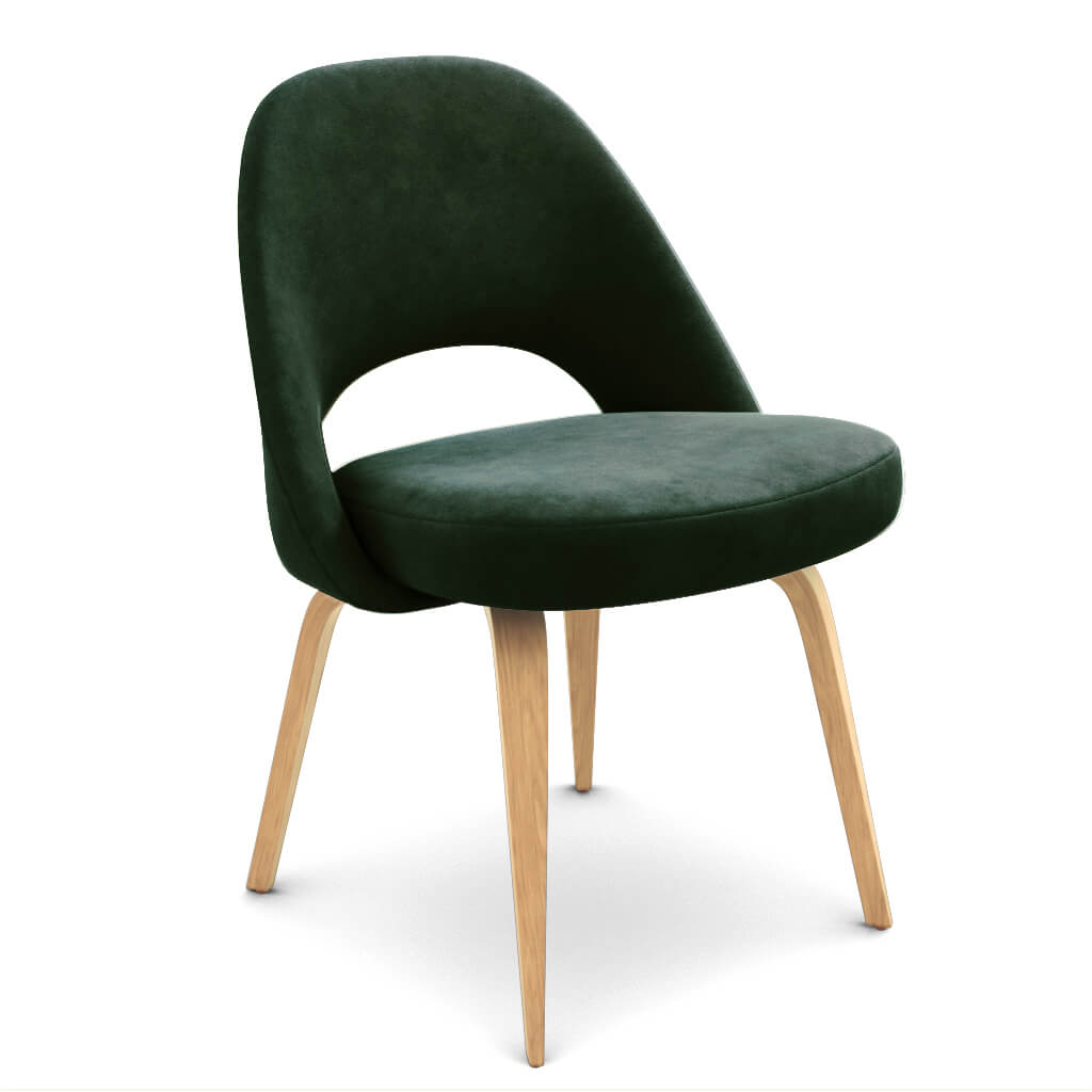 Side Chair Wood Evergreen Ash photo