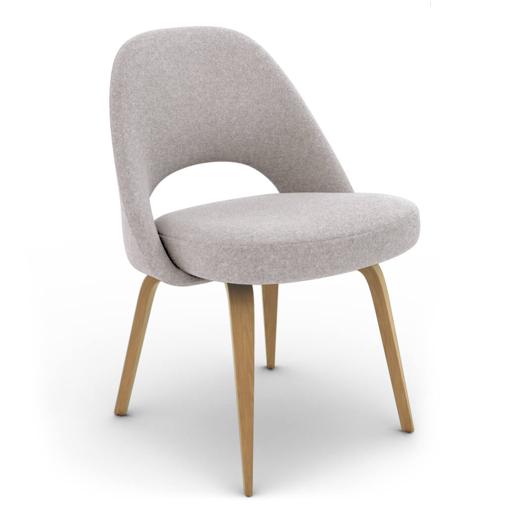 Side Chair Wood Grey Ash photo