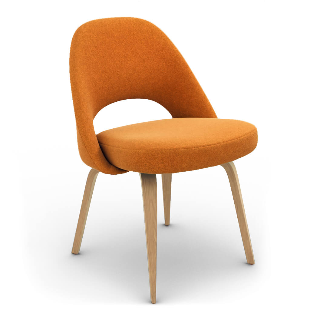 Side Chair Wood Wool Copper Ash photo