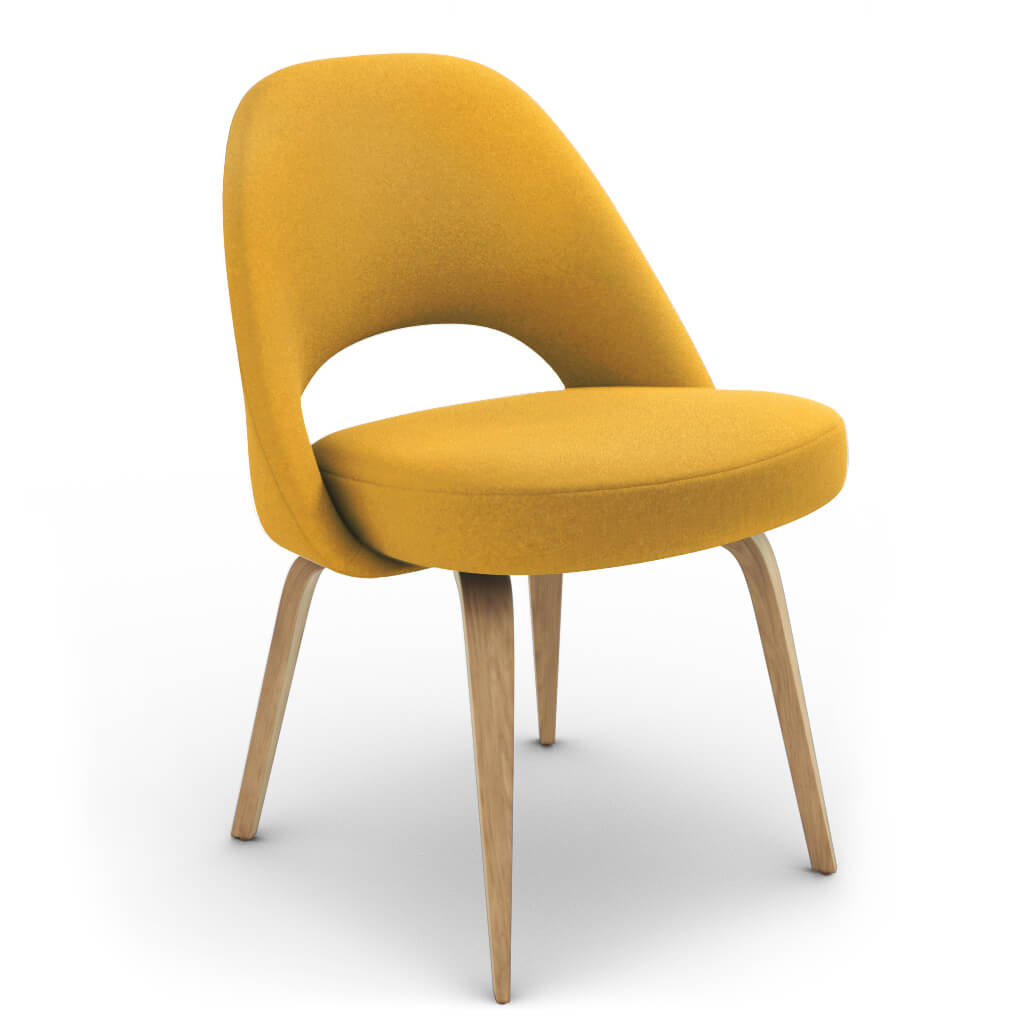 Side Chair Wood Yellow Ash photo