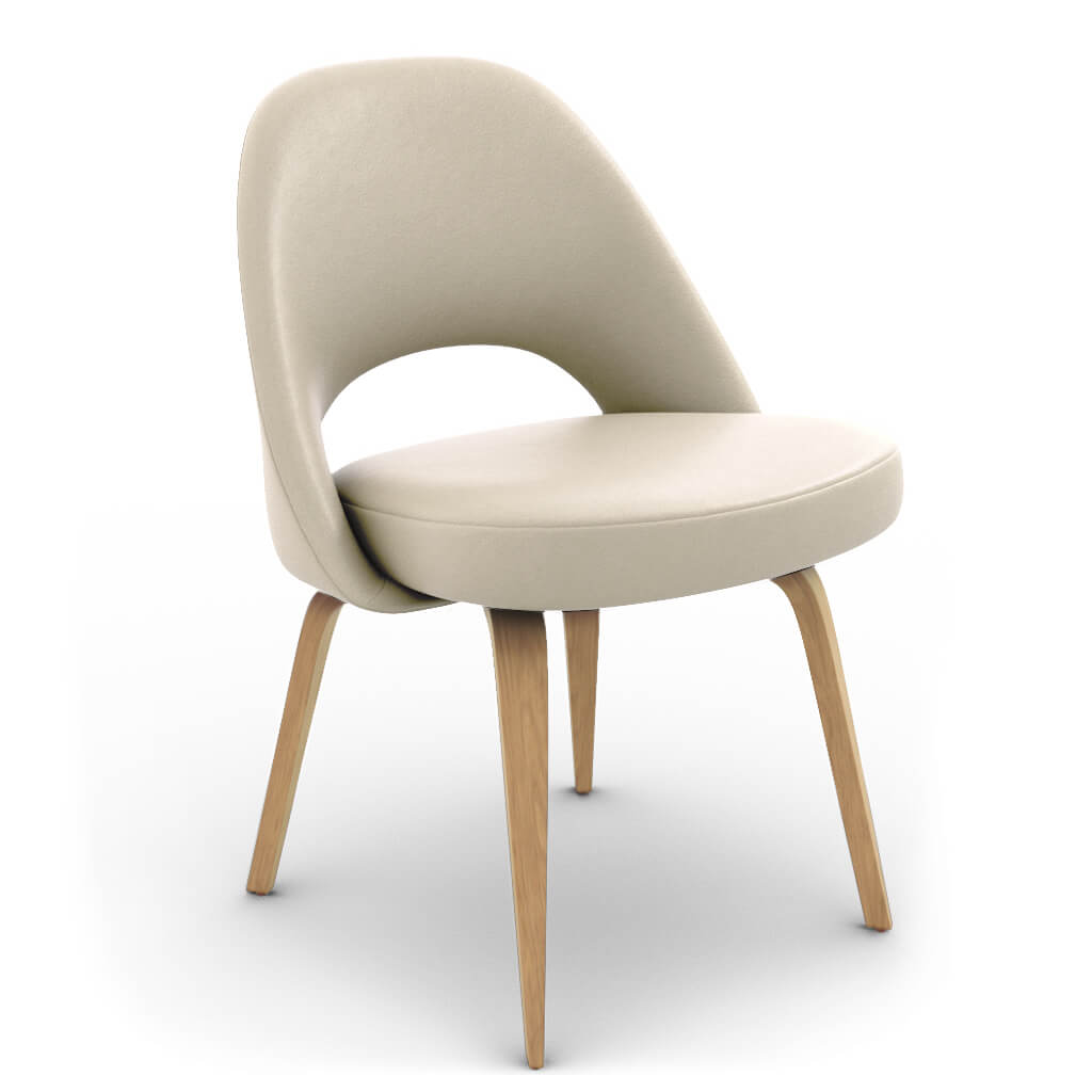Side Chair Wood Cream Ash photo