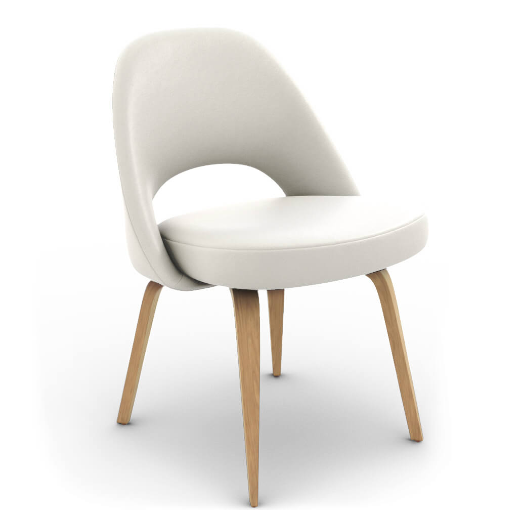 Side Chair Wood White Ash photo