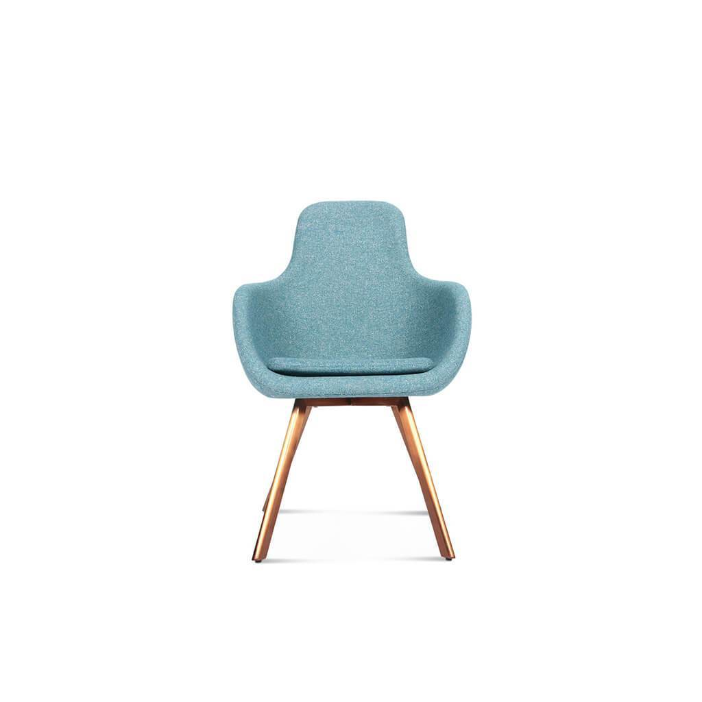 Tom Dixon  Scoop Chair - High Back - Aniline-Beige