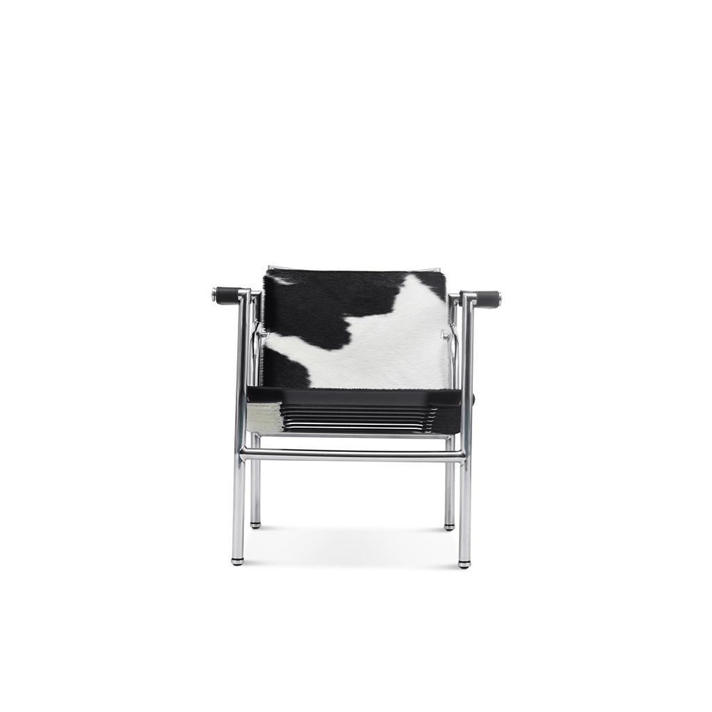 Le Corbusier  LC1 Sling Chair - Top Grain-Cream
