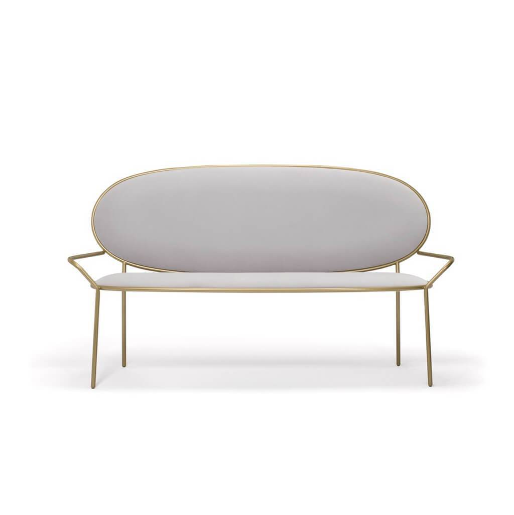 Nika Zupanc Stay Bench With Armrests - Customizable