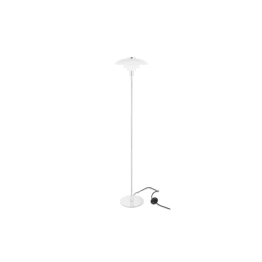 PH 3 1/2-2 1/2 glass Floor Lamp