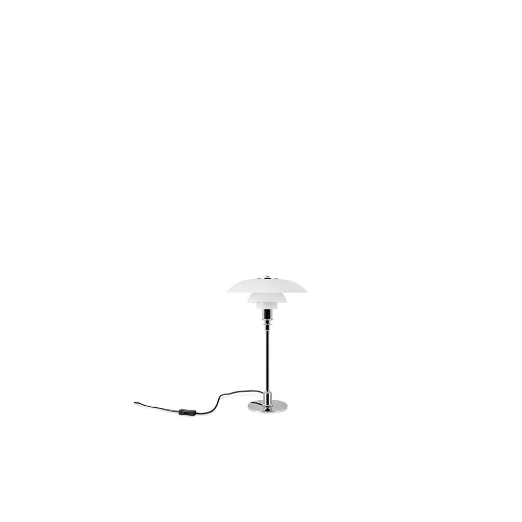 PH 3 1/2 -2 1/2 Glass Table lamp