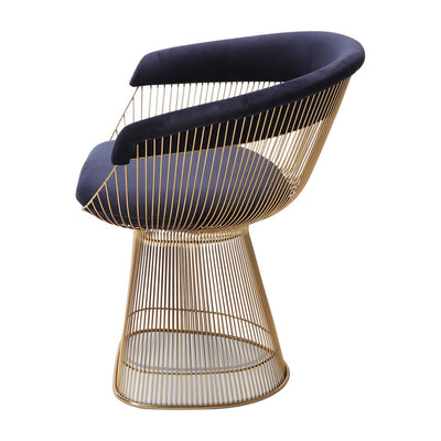 Warren Platner Armchair - Gold Base - EternityModern