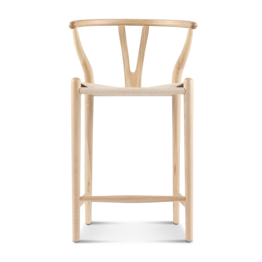 Excellent Wishbone Counter Stool Dailytribune Chair Design For Home Dailytribuneorg