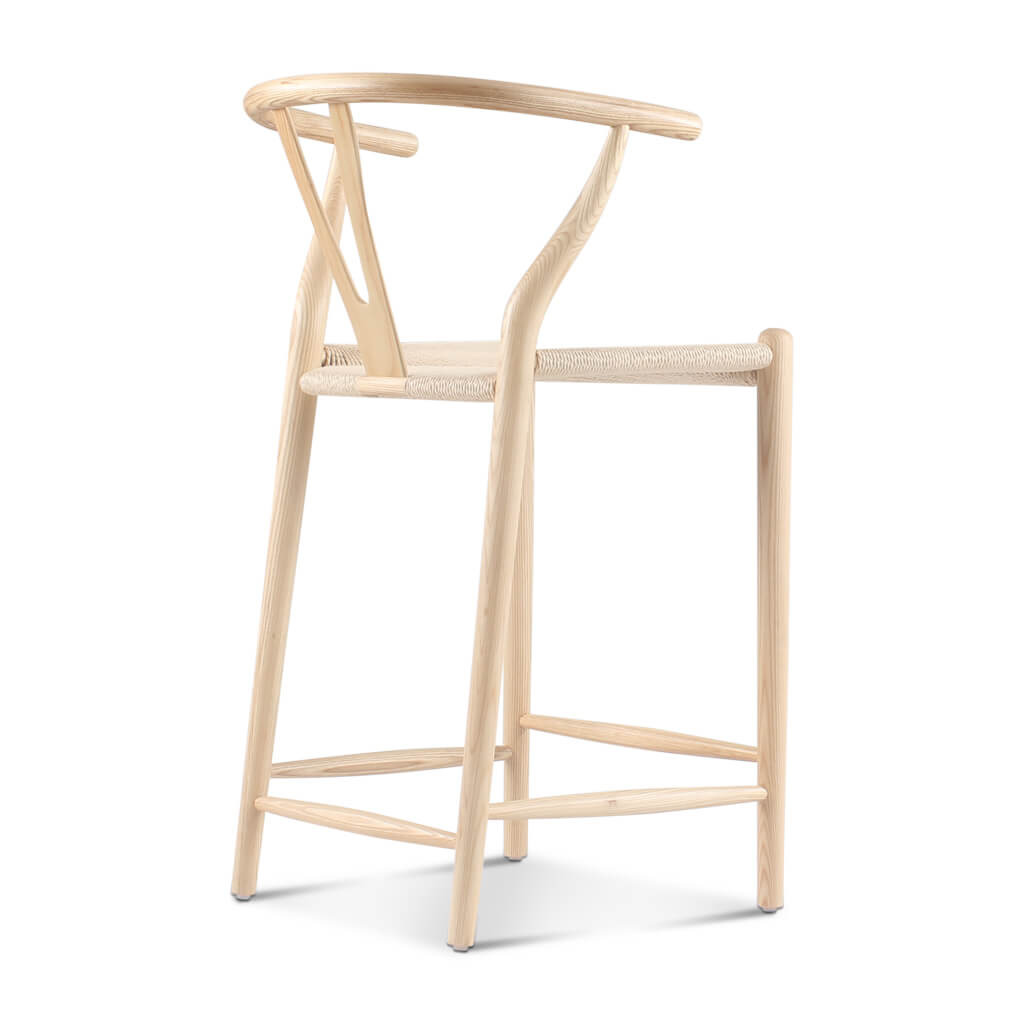 24 Off Wishbone Counter Stool Eternity Modern