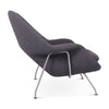 Womb Loveseat - White Powder-Coated Steel - EternityModern