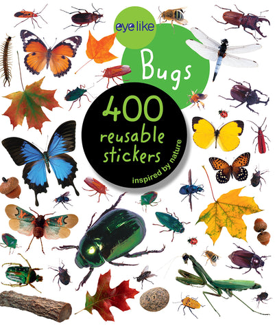 "CUENTO ""400 REUSABLE STICKERS BUGS"""