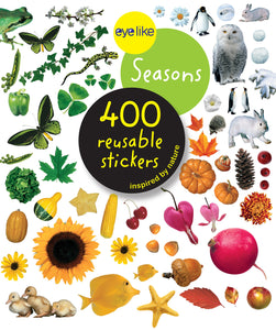 "CUENTO ""400 REUSABLE STICKERS BABY ANIMALS"""