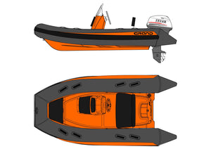 GRAND RIBS Customise build - Design your own RIB