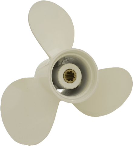 Yamaha J series, Aluminium propeller, 9.9-20hp 8 tooth spline