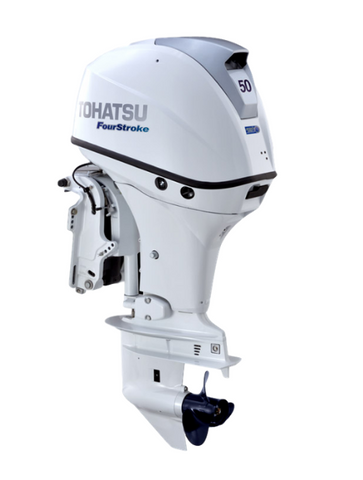 Tohatsu Beluga White 50hp for sale | SW Marine Store