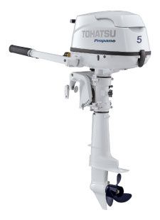 Tohatsu 5HP LPG Outboard
