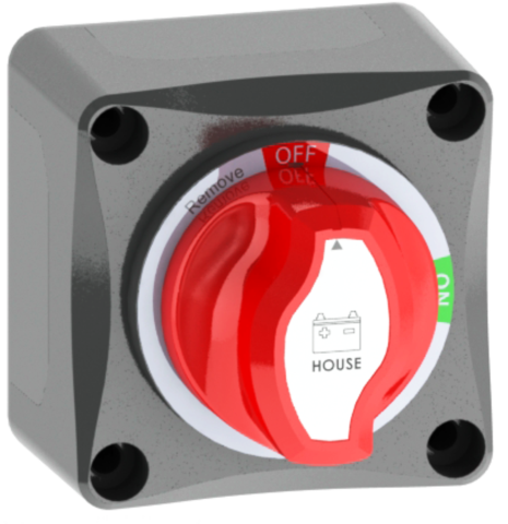 Battery Isolator Switch, Single Battery