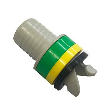 Inflatable Valve Adapter, Push & Twist