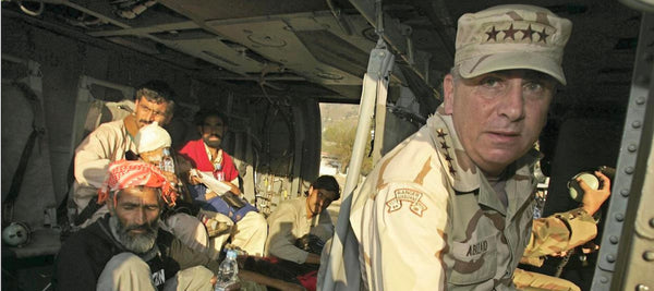 Battlefield Fallujah Warriors: General John Abizaid, U.S. Army