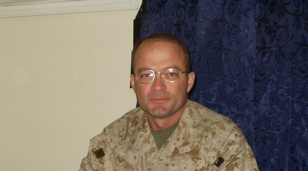 "Battlefield Fallujah Warriors: Major Marshall ""Rich"" Bourgeois, USMC"