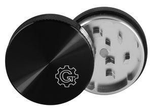 Grindhouse Solid Top Metal Weed Grinder | Black