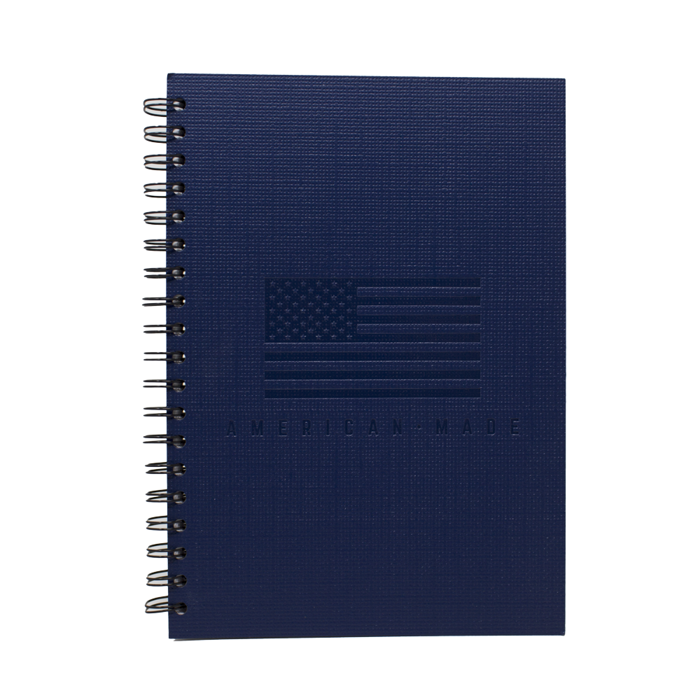 American Made Blue Journal