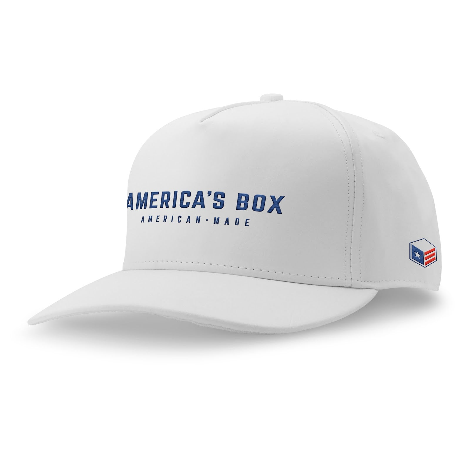 America's Box White Cap
