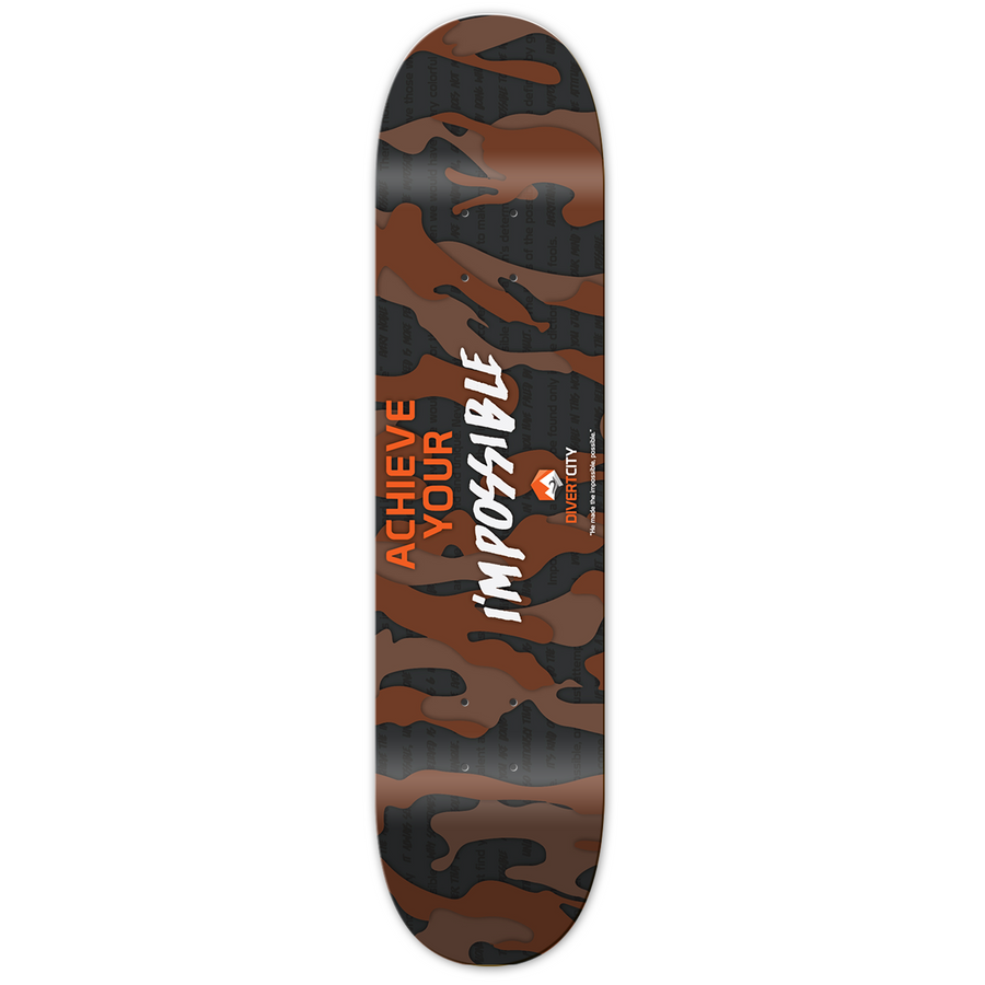 Achieve Your I'mpossible Skate Deck