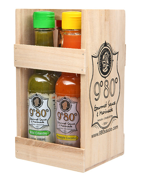 9º80º Signature 4-Pack Gift Set - 980Gourmet