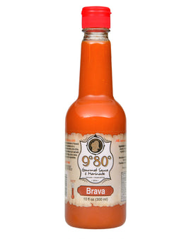 Brava (Buffalo) 10 oz. & 1 Gallon - 980 Gourmet Sauces and Marinades