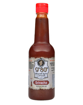 Sriracha 10 oz. & 1 Gallon - 980 Gourmet Sauces and Marinades