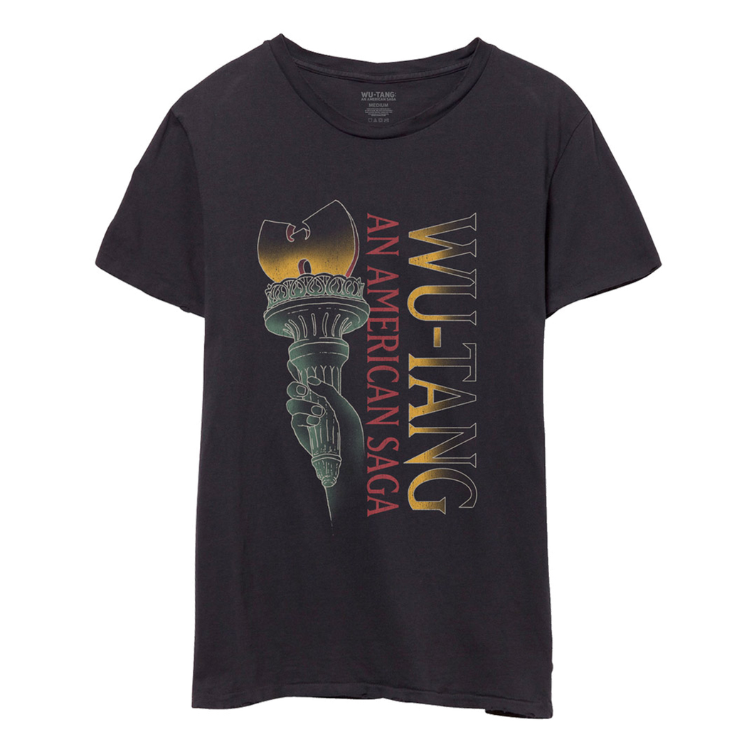 Life, Liberty and Wu-Tang Tee - Black-Wu Tang Clan