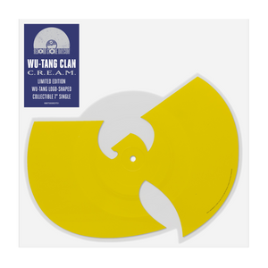 C.R.E.A.M. Die Cut Picture Disc - Wu Tang Clan