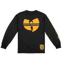 Wu Tang Clan x Mitchell & Ness Enter The Wu Long Sleeve Tee - Black-Wu Tang Clan