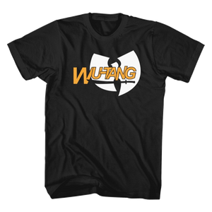 Sword Logo Tee, Black - Wu Tang Clan
