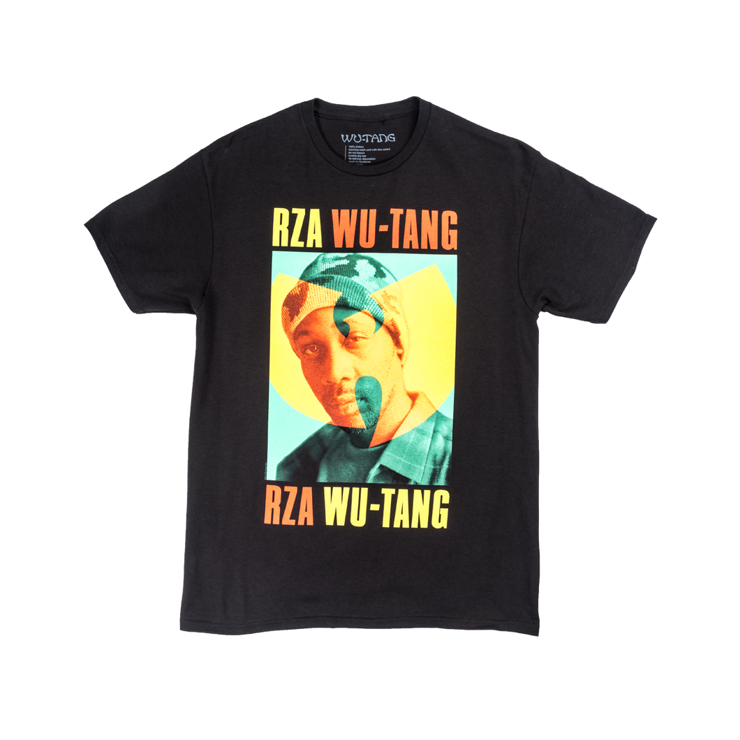 Wu Tang Clan - Rza Photo Duotone tee in Black.