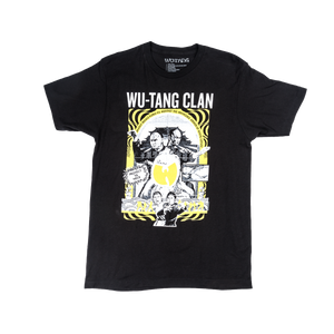 Wu Tang Clan - Deadly Needle tee in Black.