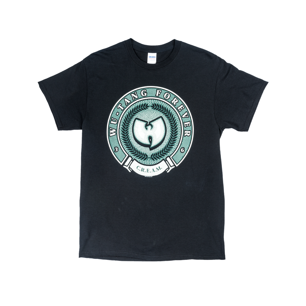 WU TANG MONEY SHIELD T SHIRT - Wu Tang Clan