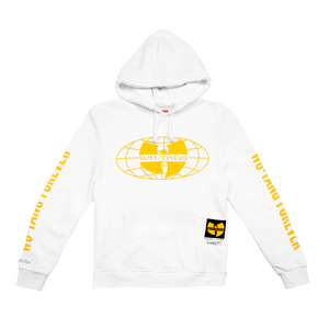 Wu Tang Clan x Mitchell & Ness Wu Tang Forever Hoodie - White - Wu Tang Clan