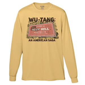 Wu-Tang District Tee - Yellow-Wu Tang Clan