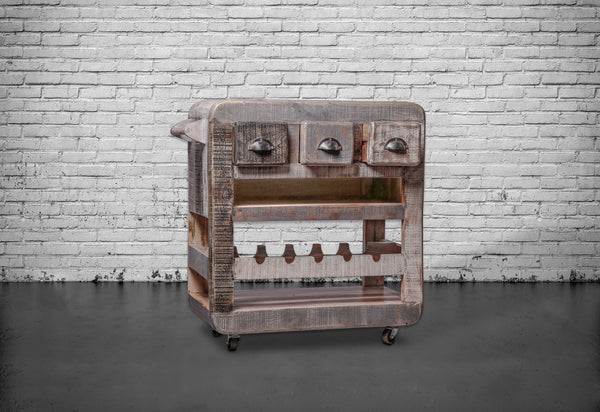 Bar Cart For Man Cave