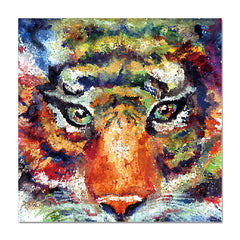Tiger Dream Painting - Wall Art by Casa Suarez
