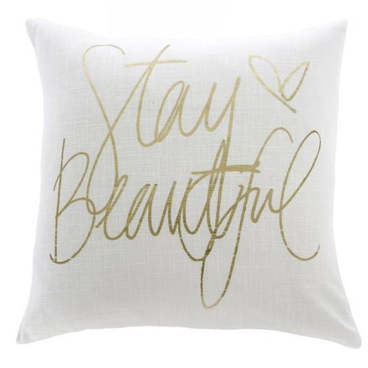 Stay Beautiful - Cushion Cover - Casa Suarez