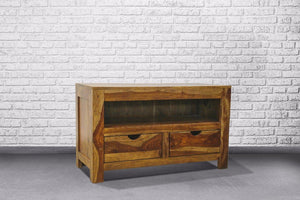 Zen TV Cabinet - 2 Drawers - Casa Suarez