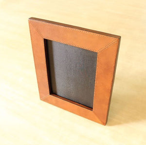 Emblazon Leather Photo Frame - Casa Suarez