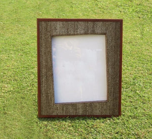 Flourish Leather Photo Frame - By Casa Suarez - Casa Suarez