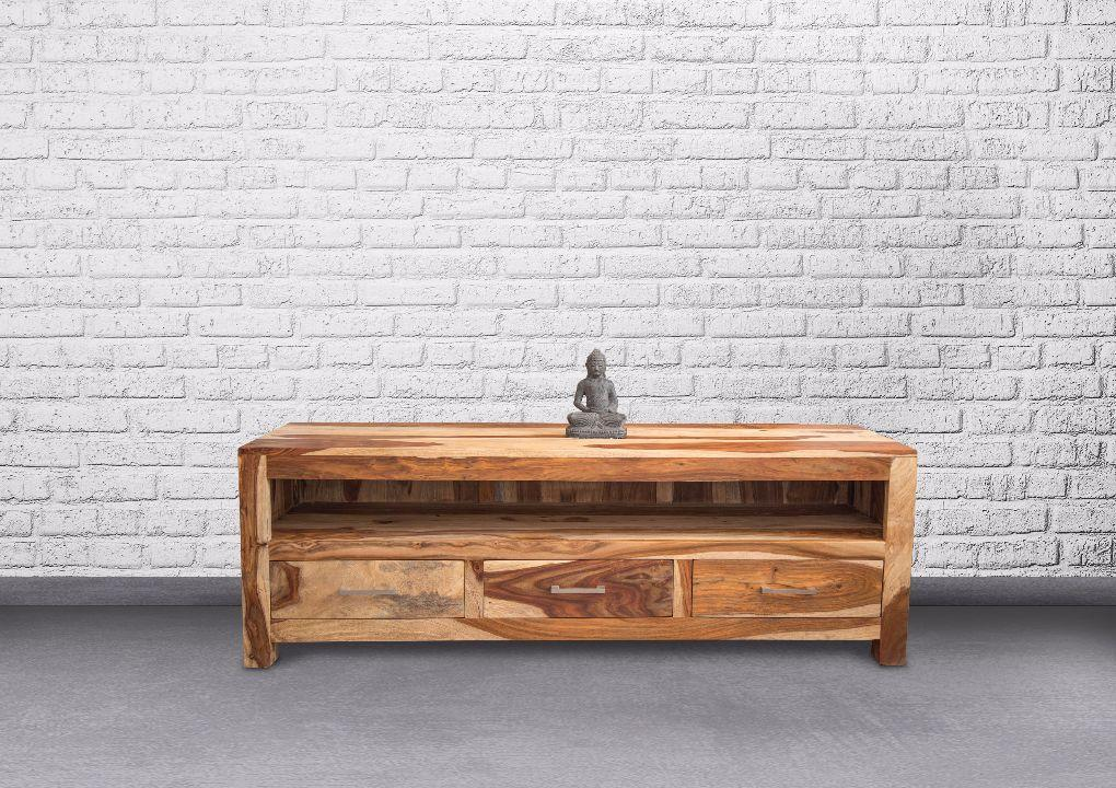 ZEN  TV Unit With metal handles Rosewood - Casa Suarez
