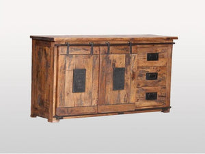 Buffet 2 Doors 3 Drawers Railway - Casa Suarez